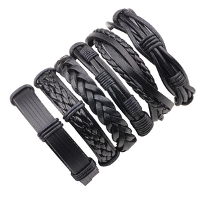 Vintage Casual Leather Bracele