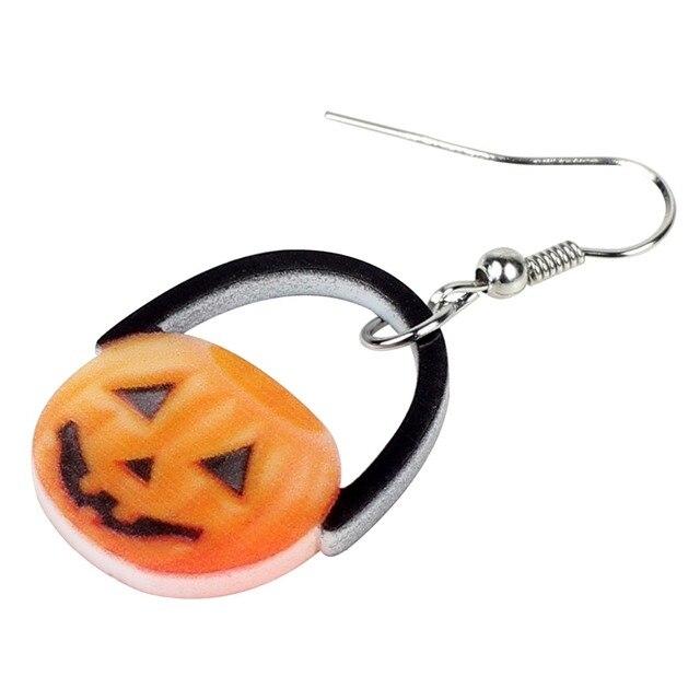 Adorable Pumpkin Earrings 2.5 x 1.9 cm 1