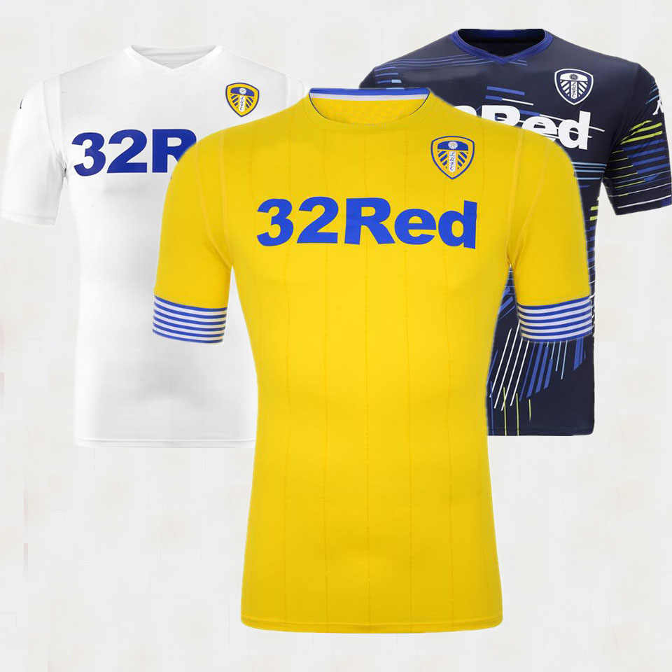 664c19f3cf2 2018 2019 Leeds United Casual shirts 18 19 Leeds United Casual shirts  Leisure Best Quality