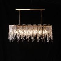 Прихожая Ice подвесной светильник Art декор водопад подвесной светильник для столовой дома огней и освещения e14 Led Подвеска светильник