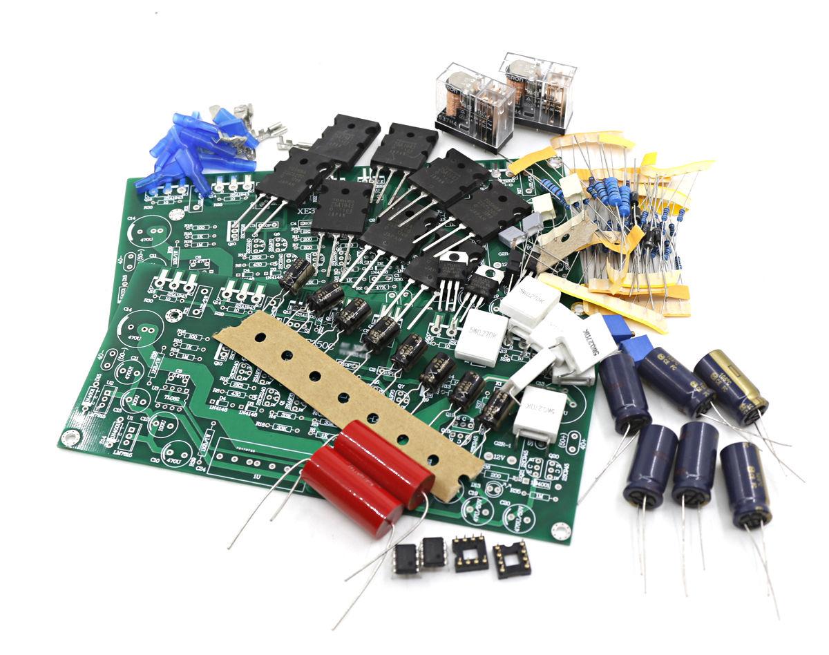 One Pair XE350 Power Amplifier Kit Base On Accuphase Amp Line 80W+80WOne Pair XE350 Power Amplifier Kit Base On Accuphase Amp Line 80W+80W