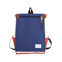 JULIE women Backpack Colorblock Waterproof College Student Bag hot Youth Girl Laptop Large Capacity Female Shoulder bag