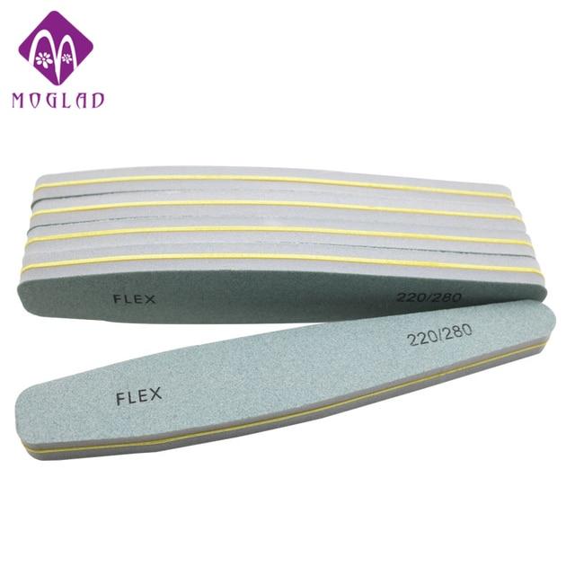 Moglad new design 5pcs/lot diamond nail file buffer 220/280 grit ...