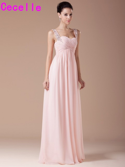 Kleider in rosa lang
