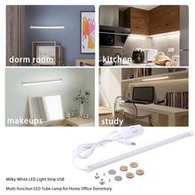 Milky White LED Light Strip USB Multi-function LED Tube Lamp For Home Office Dormitory