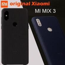 "100% Original Xiaomi Mi Mix 3 4G ฝาครอบกรณีกลับ PC mix3 coque ป้องกันผ้ากันกระแทก mi Mix 3 กรณี 6.39"""