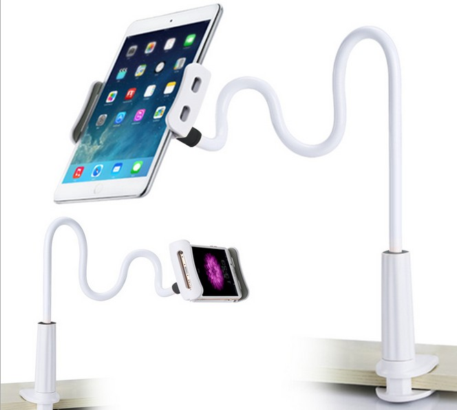 Flexible Arm Table Pad Holder Stand for HTC 100-120cm Long Lazy People Bed Desktop Tablet Mount for iPhone iPad Mini