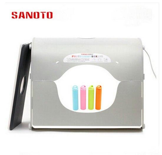bilder für Professionelle LED Softbox Fotostudio Fotografie Licht Box Tragbare Mini Foto Box K50-LED 220/110 V EU USA UK AU