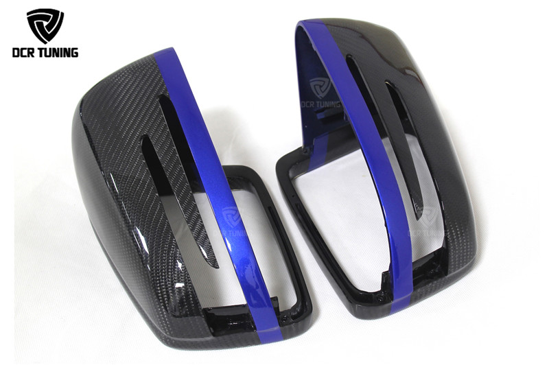 Mercedes Carbon Mirror W204 W207 W212 W176 W218 W221 Mercedes A C CLS E CLA Class Carbon Mirror Cover  (2)