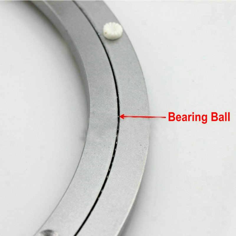 Оптовая продажа наружный диаметр 600 мм (24 дюймов) тихий и гладкий Твердый алюминиевый Lazy Susan подшипник Поворотные Пластины