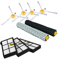 IRobot Roomba parça kiti serisi 800 860 865 866 870 871 880 885 886 890 900 960 966 980- fırçalar ve filtreler