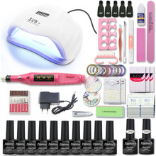 Nail Set UV LED Lamp Dryer With 10pcs Nail Gel Polish Kit Soak Off Manicure Tools Set Gel Nail Polish Kit For Nail Art Tools surafel mamo woldegbrael flood forecasting conterol and modeling for flood risk management systems