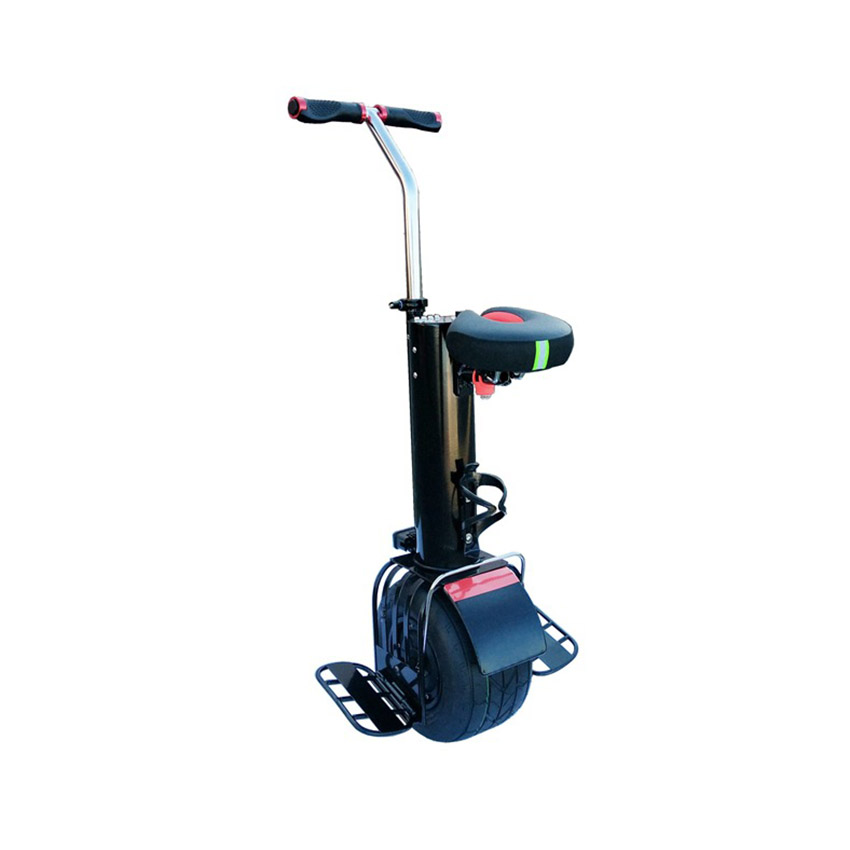 Una rueda auto equilibrio monociclo unicicle scooter con asiento de 10 pulgadas hoverboard - 6