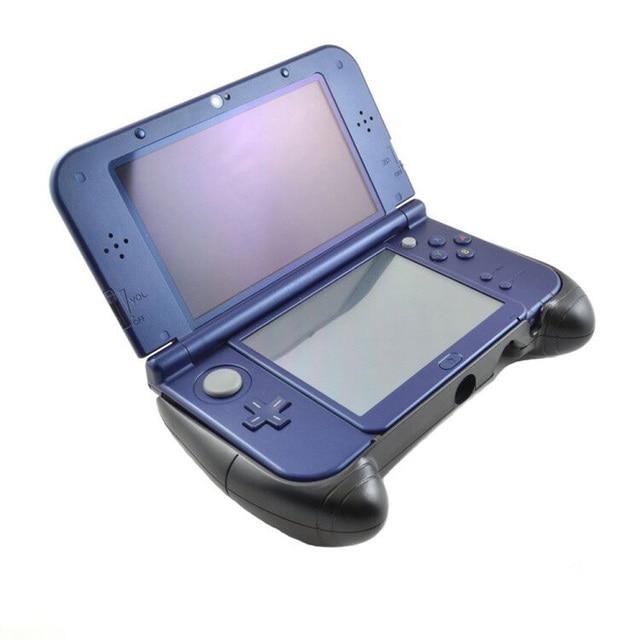 מגן כיסוי מחזיק משחק בקר מקרה פלסטיק יד גריפ ידית Stand עבור Nintend חדש 3DS XL LL (גרסה חדשה)