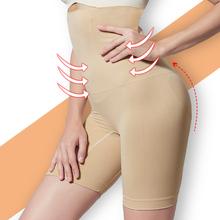 High waist tummy control panties shaper butt lifter panty slimming pants body shapers women trainer