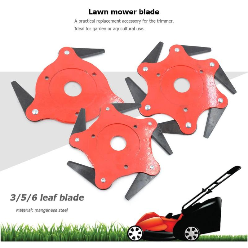 3T/4T/ 5T/ 6T Garden Lawn Mower Blade Manganese Steel Grass Trimmer Brush Cutter Head Trimmer Head Agricultural Garden Tools
