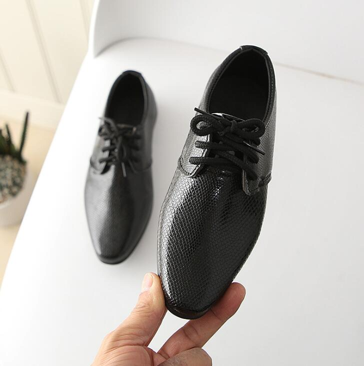 Newborn Baby Boys Shoes British Style Children Kids Shoes Solid Leather Formal Princess Single Party Wedding Casual Shoes