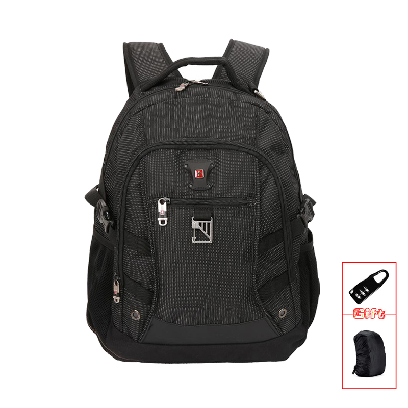 SWISSWIN Brand Men Backpack Bag Classic Business Travel Backpack School Backpack for Teenagers Waterproof Laptop Backpack SW9218