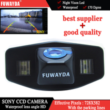 FUWAYDA Car RearView Backup Parking Mirror Image With Guide Line SONYCCD Chip font b CAMERA b