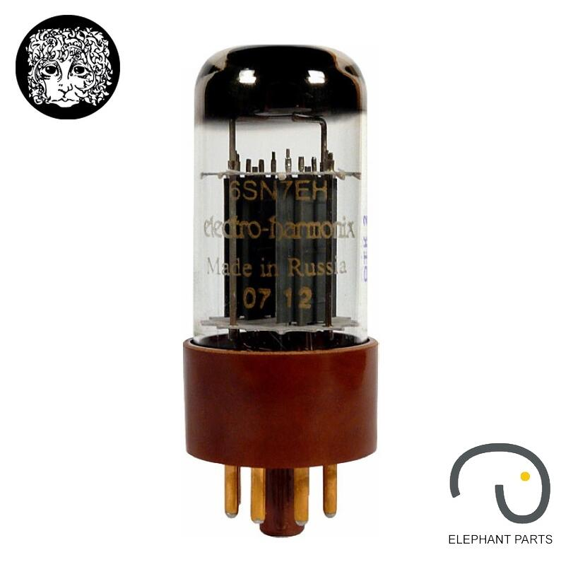 Music Hall 1PC Electro-Harmonix EH 6SN7 GOLD PIN Russia Vacuum Tubes Brand New For Tube Amplifier Free shipping мягкая игрушка развивающая k s kids часы сова