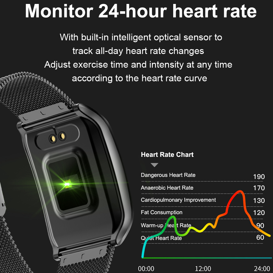 Image 2 - COXRY Multiple Sport Smart Watch Men IOS IP68 Waterproof Heart Rate Smartwatch Blood Pressure Monitor Bluetooth Health Wristband-in Smart Watches from Consumer Electronics
