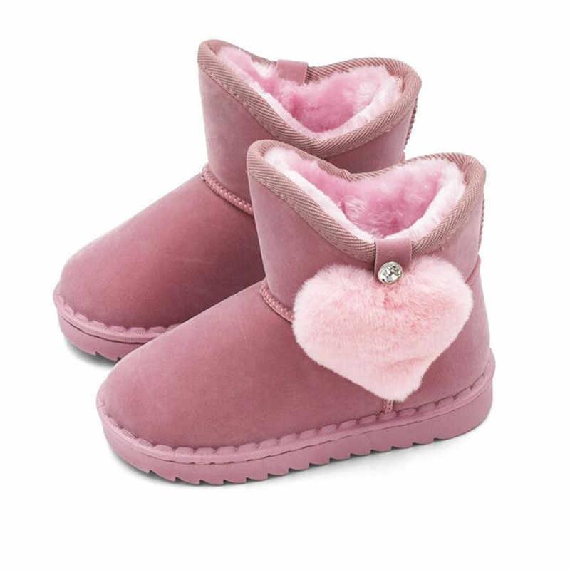 a2d9ce92f Сапоги для девочек резиновые сапоги для маленьких девочек зимние сапоги  кожаные детские ботинки детская зимняя обувь