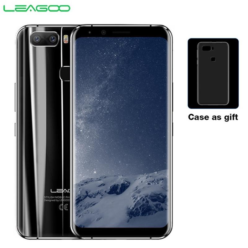 LEAGOO S8 Pro смартфон 5,99 FHD + ips 2160*1080 Экран 6 ГБ + 64 ГБ Android 7,0 MT6757CD Восьмиядерный двойной сзади камеры 4 г мобильного телефона