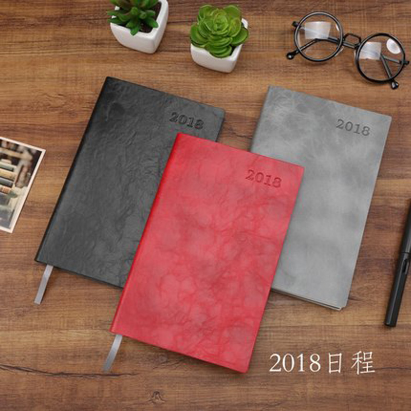2018 A5 Notebook Monthly Plan Calendar Monthly Plan PU Leather Diary Note Stationery Periodical Schedule Travel Planbook Year squaretrade 3 year gps accident protection plan $600 700