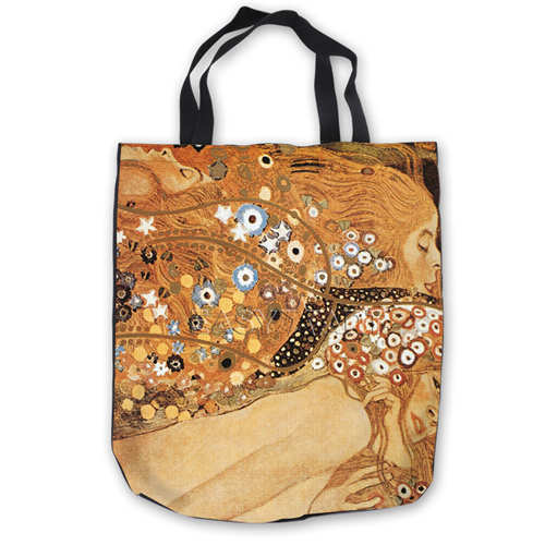 Image 3 - Custom Canvas Gustav_Klimt_ (1) Tote Hand Bags Shopping Bag Casual Beach HandBags  Foldable 180911 02 15Top-Handle Bags   -