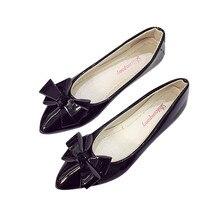 Мода Лук Острым Носом Женщины Квартиры Женщины Плоские Туфли Балетки Женская Весна Повседневная Обувь #3
