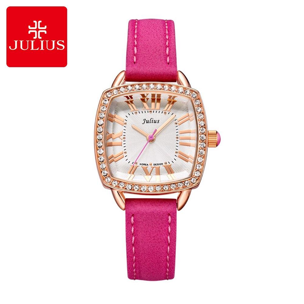 Φ_ΦFreeshiping mujeres visten Rhinestone relojes de moda de cuarzo ...