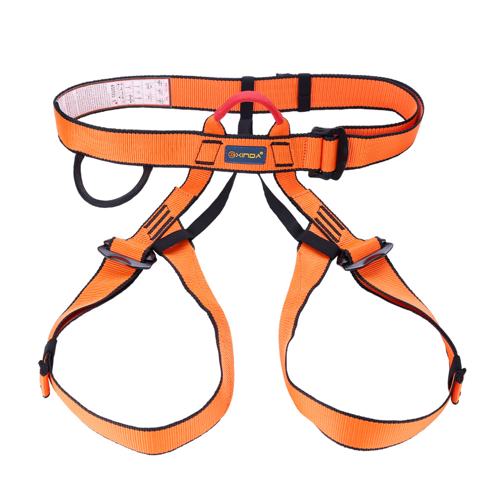 Multipurpose Outdoor Half Body Adjustable Mountain Climbing Safety Harness Belt Equipment In Survival From Sports