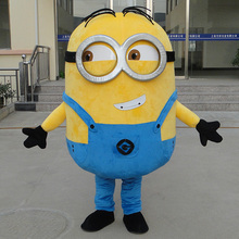 Minion Despicable Me Mascot Costumes EPE Fancy Dress Outfit Adult despicable me mascot costume Xmas Gift