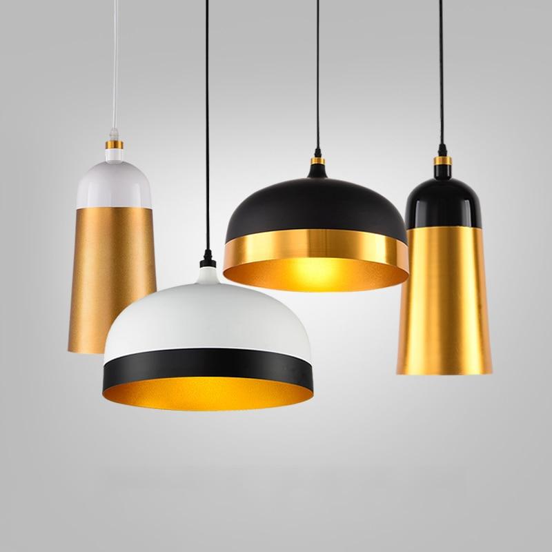 E27 Art Aluminum Pendant Lights Restaurant Cafe Bar