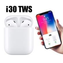 i30 tws pk i20 w1 chip 1:1 Pop Up Bluetooth Earphones Wireless Touch Control Earbuds 5.0 Headset not i10 i12 i13 i14 lk te9