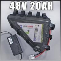 48v triangle battery 48V 20AH electric bike lithium ion battery Samsung 48v 1000w ebike battery Free EU US customs duty