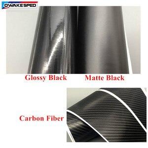 Image 5 - Clubsport style fibre de carbone décalcomanie voiture côté jupe autocollant Automobiles accessoires pour Volkswagen Golf 7 MK7