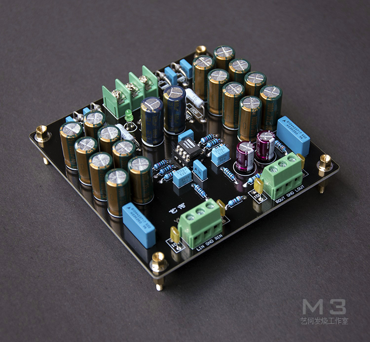 Assemble M3 Preamplifier Board HIFI OPA2604 Preamp High Quality For Amplifier