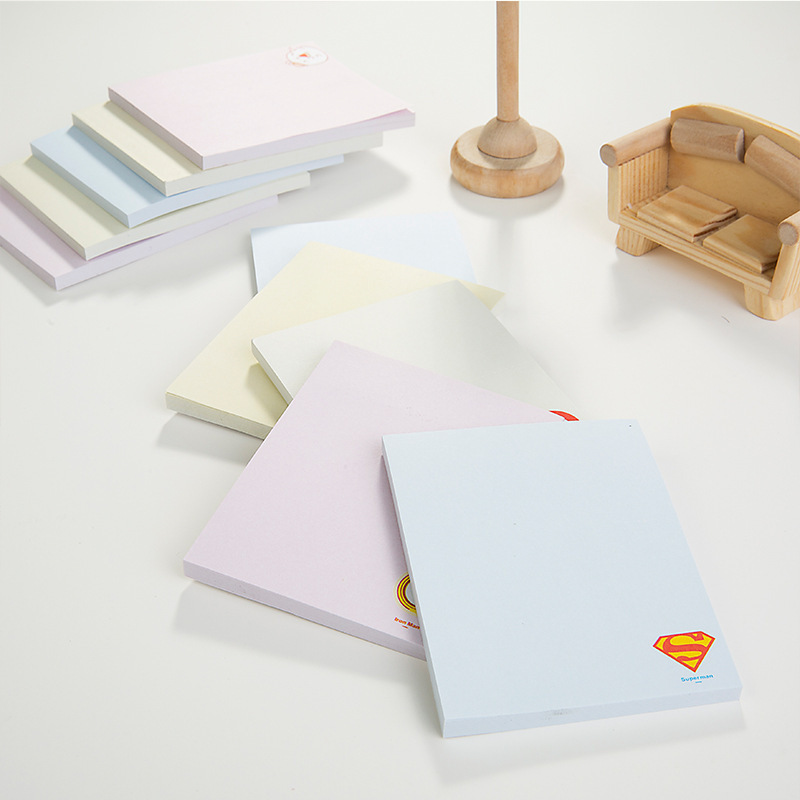 Free Shipping Creative Kawaii Colored Paper Sticky Memo Pad Cute Cartoon Animal Post It Note School Supplies Novelty Stationery