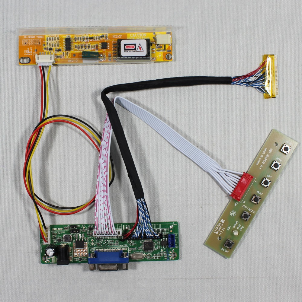 VGA LCD Controller Board RT2270C.3-A for 12.1inch LTD121KM1K 1440x1050 lcd panel screen model lcd for Raspberry Pi tengying l298n motor driver board for raspberry pi red