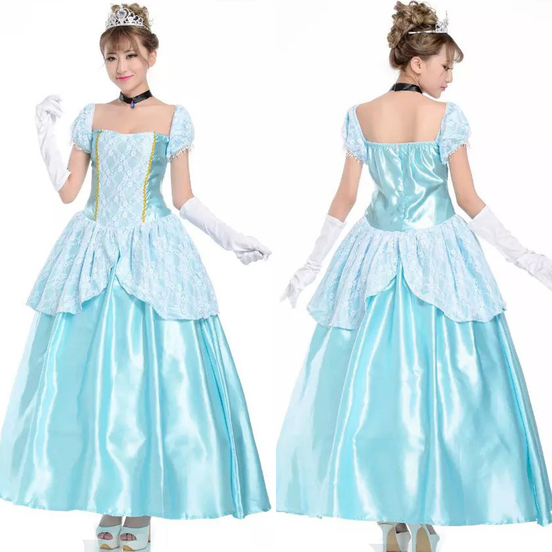 Princess Cosplay Women Costumer Dress Sexy Fluffy Skirt Evening Ceremony Outfit New Style
