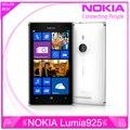 "Teléfono original Lumia 925 Windows Phone 4.5 "" 1 GB 16 GB de la cámara mp Wifi GPS 4 G nokia Lumia 925 teléfono móvil envío gratis"