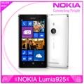 "original phone lumia 925 Windows Phone 4.5"" 1GB 16GB Camera 8.7MP Wifi GPS 4G nokia Lumia 925 Mobile Phone Free shipping"