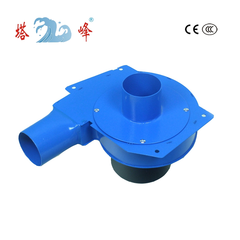 TAFENG 6cm pipe small air electric gas hot air steel housing suction blower AC duct centrifugal