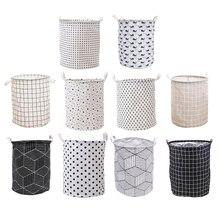 Toys Storage-Bucket Laundry-Organizer Folding Home-Decoration Kids Barrel Waterproof