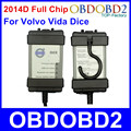 Full Chip For Volvo Vida Dice Newest 2014D Diagnostic Tool Multi-Language For Volvo Dice Pro Vida Dice Green Board Full Function