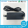 Outout 62.05V 1A 17S Smart LifePO4 Battery Charger