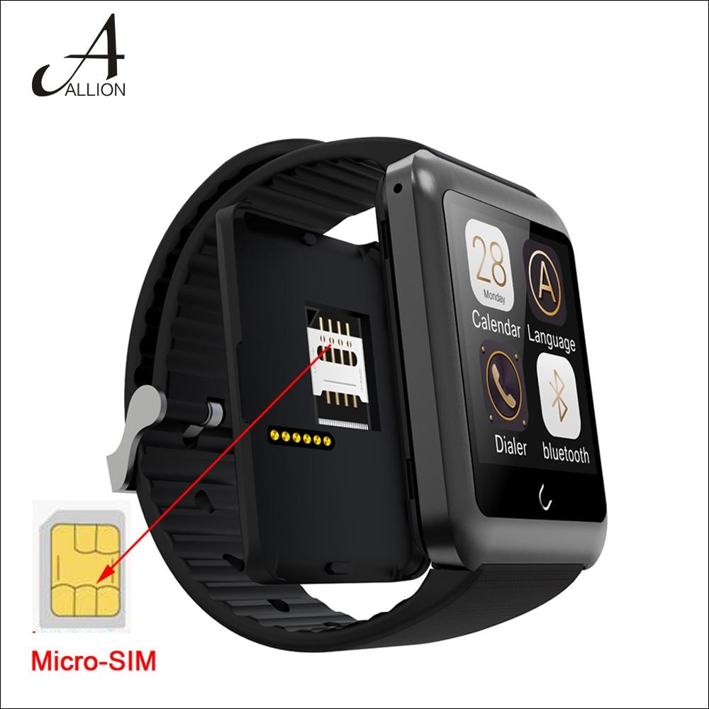 New Bluetooth Smart Watch U11 Uwatch font b Smartwatch b font Wristwatch Handsfree Anti Theft Support