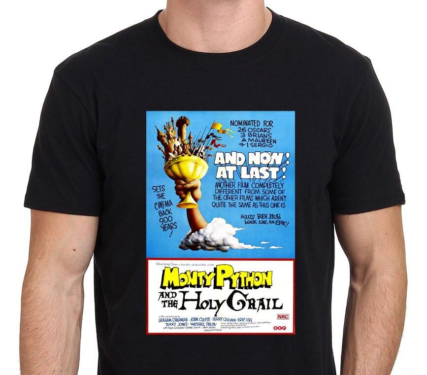 Monty Python et Le Saint-Graal Vintage lunettes de Film Affiche hommes de T-Shirt S-3XL O-cou Tendance Style T Chemises Styles Top Tee