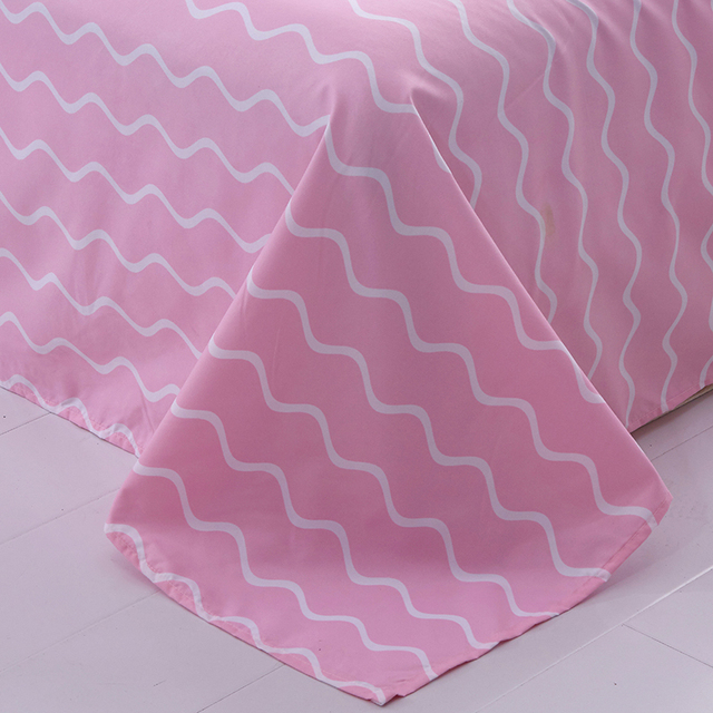 Pink Flaming Bedding Set